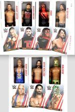 "WWE 12"" True Moves Figure Set: AJ Styles Rollins Owens Kane Orton Angle Kalisto"
