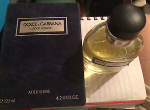 Vintage Dolce & Gabbana Pour Homme After Shave 125 Ml Euroitalia Made In Italy