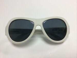 Babiators Ages 3-5 White Sunglasses