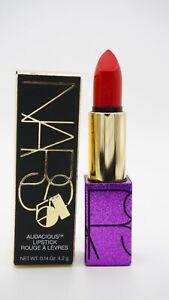 NARS Audacious Lipstick Studio 54 Carmen, Glitter Purple Case, Limited Edition