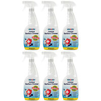 6 x HYCOLIN Antiviral Antibacterial Surface Cleaner KILLS 99.99% Germs & Viruses
