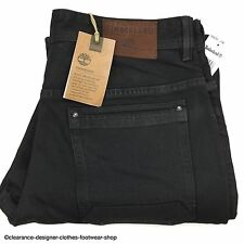 TIMBERLAND JEANS MENS BLACK SLIM FIT NEW THOMPSON LAKE JEANS W31 L34 RRP £95