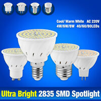 4W-8W MR16 E27 GU10 E14 2835 LED Ceiling Spot Light Parlour Lamp Shop Bulbs 970