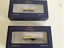 HOe new bachmann Liliput L245181 Niederbordwagen StLB Ep V-VI  X601.9311 x 2