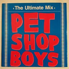 "Pet Shop Boys The Ultimate Mix Maxisingle 12"" Alemania 1988"