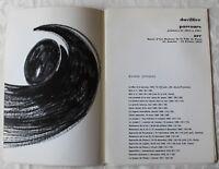 Textes pour Duvillier ✤ André Breton / Michel Ragon / Etc... ✤ 1972