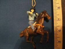 Cowboy Ornament Cowboy on Chestnut Horse 65593 209