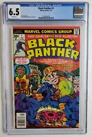 BLACK PANTHER #1 CGC 6.5 1ST SOLO SERIES 1977 ENDGAME MOVIE AVENGERS FF 52