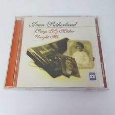 Joan Sutherland Songs My Mother Taught Me CD (2001) ABC Classics CD