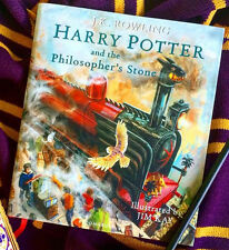 1st/1 Prnt&Ed illustrated Harry Potter Philosopher's Stone aka Sorcerer's in USA