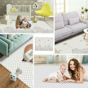 200 x 180cm Baby Care Play Mat Crawling Non-Slip Waterproof Double Sides