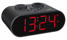 FUNKWECKER DIGITAL TFA 60.2551.01 LED-ANZEIGE SNOOZE DIMMBAR USB-LADEFUNKTION
