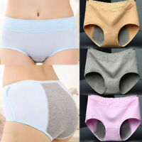 Underwear Menstrual Women Leak Briefs Period Proof Seamless Panties Sexy Soft