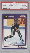 1991-92 Score American Scott Young #287 PSA 10