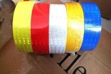"Safety Caution Reflective Tape Warning Tape Sticker self adhesive tape 2"" 1M"