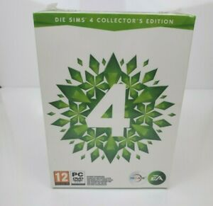 Sims 4 Collectors Edition PC Plumbob Statue Lamp Guide & Game (German Version)