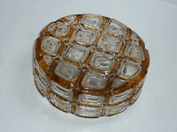 60er 70er vintage DECKENLAMPE WANDLEUCHTE WILA 25 cm 60s 70s sconce ceiling lamp