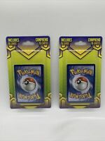 2020 pokemon Sealed 15 card mystery pack (walgreens) - Lot of 2