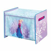 DISNEY FROZEN COSYTIME TOY BOX NEW 100% OFFICIAL BEDROOM STORAGE