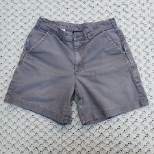 """Patagonia 7"""" Stand Up Shorts Grey Cotton Canvas Outdoor Hiking - 32"""