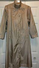 Winkleman's Nylon Women's Rain Coat Belted Long All Weather Trench Coat Sz 13/14