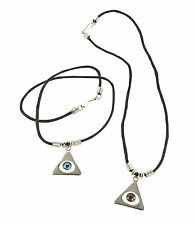 Pyramid Eye Cord Necklace. Lot of 600 for $0.30 each.