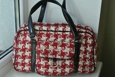Womens Vera Bradley Medium Hand Bag - Quilted Red/White