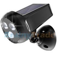 Solar Powered Motion Sensor Light Outdoor Security Lighting Wall Mount Spotlight
