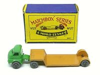 Matchbox Lesney No.27a Bedford 'S' Type Low Loader In Type 'B1' Series MOKO Box