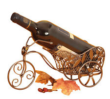 Moderno Vino Soporte de botellas BICICLETA DE METAL ALTURA 16cm Ancho 31cm