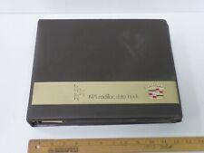 1971 Cadillac Dealer Album Data Book Presentation Color Upholstery