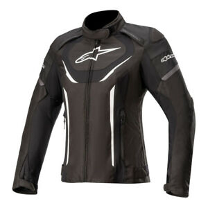 Alpinestars Stella T-Jaws v3 Waterproof Motorcycle Motorbike Jacket Black White