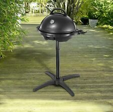 George Foreman Electric BBQ Grill Non-Stick Barbecue Grill For Indoor/Outdoor
