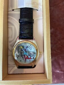 WHO FRAMED ROGER RABBIT FOSSIL Watch LE 7500 Collectors Club IV TRAIN CAR DS120