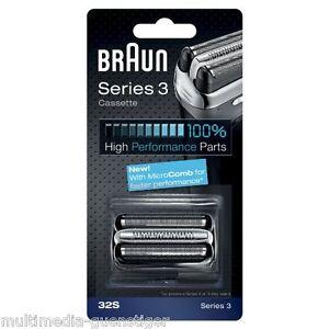 Braun 32s 32S Scherkopf  Kombipack Series 3 3070 3050 3040 3030 3020 350 340 32b