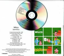 WILCO Schmilco 2016 UK watermarked & numbered 12-track promo CD Jeff Tweedy
