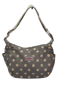 Cath Kidston Everyday Bag Button Spot Grey Colour