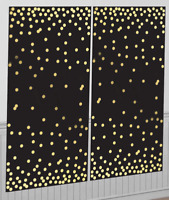 15.2m Party Wall Decoration BN UK Hollywood Starry Night Sky Scene Setter 40ft
