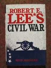ROBERT E. LEE'S CIVIL WAR - FIRST EDITION - BRAND NEW -DJ IN CLEAR BRODART COVER