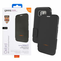 Black Book Cover For Samsung Galaxy S7 D3O Flip Protective Case by Gear4