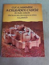 cut & assemble A crusader castle in full color: the krak des chevaliers in syria