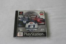 F1 campeonato temporada 2000 para la PS1 en en muy buena condición
