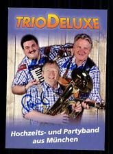 Trio Deluxe Autogrammkarte Original Signiert ## BC 72618