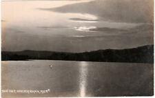 Sunset Underbank Stocksbridge Post Card  Real Photo. c.1910 .by Broadbent.