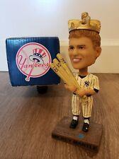 NEW YORK YANKEES MICKEY MANTLE BOBBLEHEAD TRIPLE CROWN SGA AT&T MLB BASEBALL