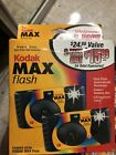 NEW Unused Kodak Max - One Time Use Cameras - with Flash - 2 Pack, 54 Pics 2003