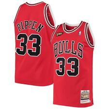 Мужские Chicago Bulls Скотти Пиппен Mitchell & Ness красный 1997-98 Hwc Pro Джерси