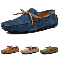 Large Size Mens Pumps Slip on Loafers Driving Moccasins Shoes Slip on Comfy DD