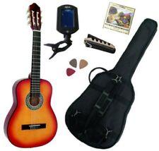 Pack Guitare Classique 1/4 Pour Enfant (4-7ans) Avec 5 Accessoires (Sunburst)