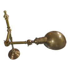 ANTIQUE BRASS METAL LAMP - DEXTER LAMP